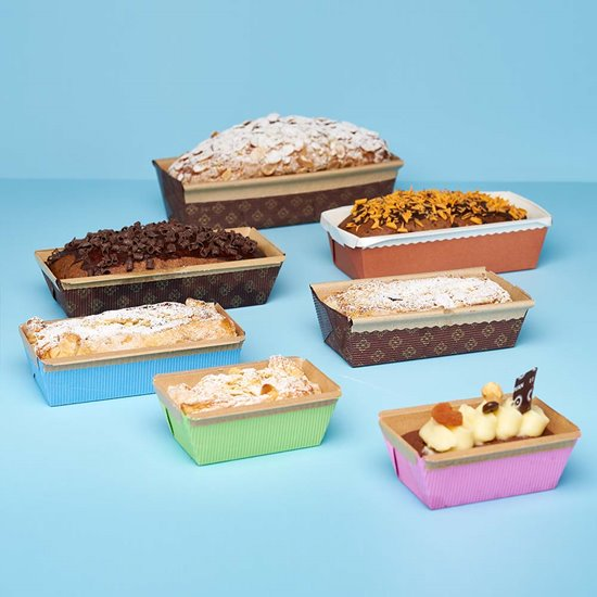 Novacart plum cake molds