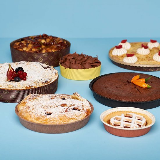 Novacart pies baking molds