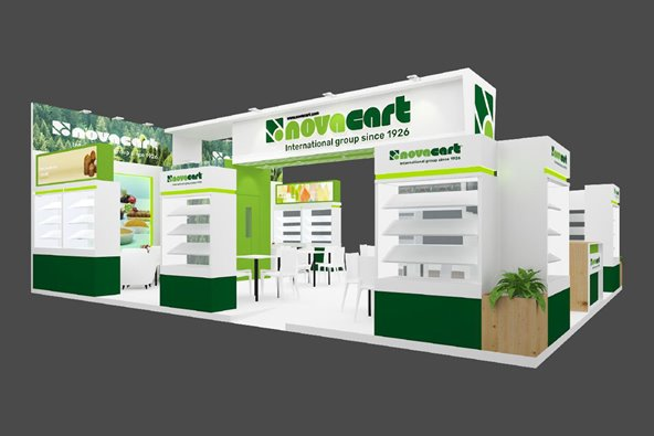 Lo stand Novacart a Gulfood Manufacturing 2021