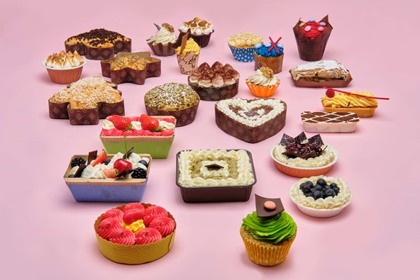 Novacart products for food and bakery