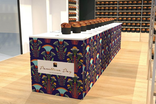 Panettone Day 2021 rendering Temporary Store
